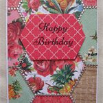 Patchwork Birthday Card