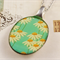 Upcycled/recycled vintage spoon resin pendant necklace, white flower daisy print