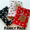FAMILY TRIO Travel pouch /iPod /Passport