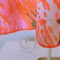 Pillowslip Style Sundress in Neon Paint Swirls
