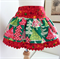Layered Skirt, Christmas Trees, sizes 3 to 10