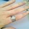 cute adjustable cupcake ring