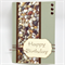 Birthday Card - River Pebbles