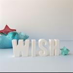 "WISH - Gorgeous resin decoration ""WISH"""