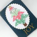 Christmas Card - Christmas Tree, Origami