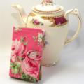 """TEA PURSE """"Roses"""""""