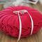 Vintage Style Velvet Wedding Ring Cushion - Hot Pink