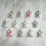 Christmas Decoration 12 Felted Angels