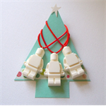 HAVE SOME LEGO FUN THIS CHRISTMAS - Lego inspired resin decorations