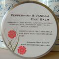 Foot Balm - Peppermint & Vanilla