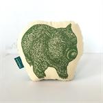 Decorative wombat pillow // childs cushion // wombat cushion // animal softie