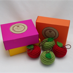 An Apple for the Teacher, Gift box, Thank-you, Lavender Scented, Fruit.