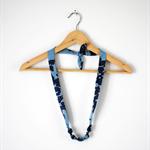 Twig Necklace - Geometric Print
