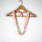 Twig Necklace - Peach or Watermelon Knit