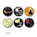 Magnets - Rita Margarita - set of 6 fridge magnets