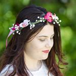 Fairy Wings Flower Crown