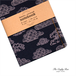Blue Nimbus Fabric Covered Notebook