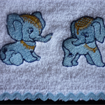 """Babies Embroidered Towelling Bibs-"""" Miscellaneous 1"""