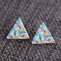 Colour Splash Triangle~Wooden Studs