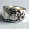 Vintage Daffodil Spoon Ring