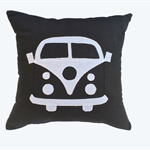 Cushion Cover - Kombi Camper - Kombi Bus - Black & White