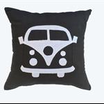 Cushion Cover - Kombi Camper - Kombi Bus - Black & White