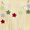 string of stars | crochet  christmas garland | bunting | party decoration