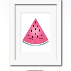 cute watermelon wedge
