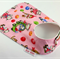 Feeder Dribble Bib Kittens on Pink Cotton Fabric Bamboo Toweling  Snap Fastened.