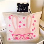 Spectacle Bunny Cushion