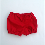 Christmas Red Shorties Bloomers