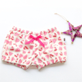Pink Christmas Tree & deer baby girls  bloomer, flexi shorts / nappy cover