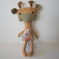 Giraffe Softie Doll