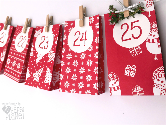 Handmade gift bags christmas
