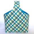Plaid Bucket Bag