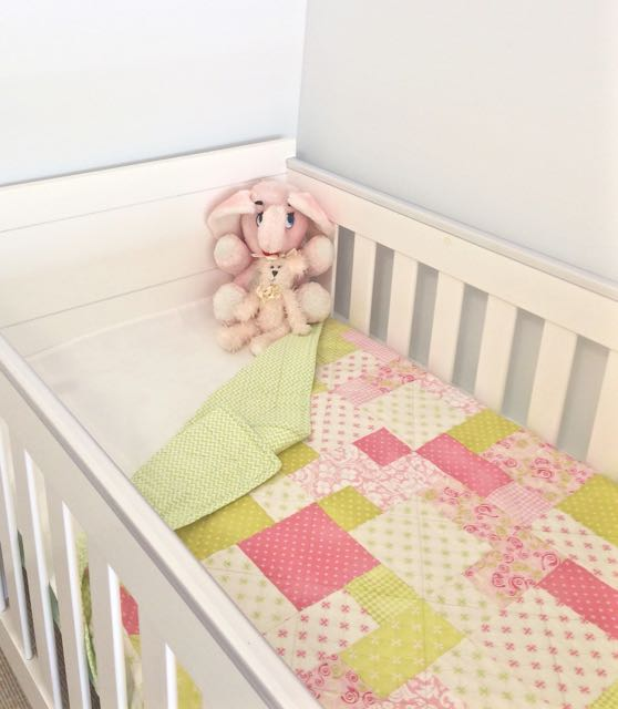 Baby Girl Patchwork Cot Quilt Bedding Baby Bedding