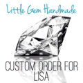 Custom Listing for Lisa