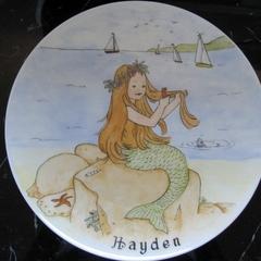 Order for Petie Moore Mermaid Plate