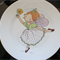 Hand painted Fairy Plate on Royal Doulton