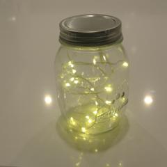 Fairy Lights Jars x 10.  ****Custom Listing****