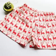 Reindeer Christmas Shorts