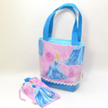CHILD'S PVC TOTE BAG 'Cinderella - Pink'