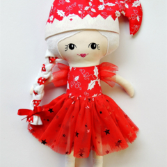 Personalised doll - Holly the Christmas doll