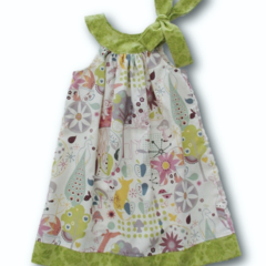 SIZE 4 Woodland Animals Yoke Aline Dress