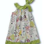 Woodland Animals Yoke Aline Dress (SIZE 1,3&4)