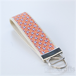 Orange Diamonds Key Fobs