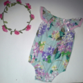 Floral Seaside Romper ♥