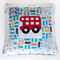 Cushion from pre-loved baby clothes - Custom Made