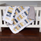Baby Cot Quilt - Handmade Baby Cot Quilt - Patchwork Quilt - Baby Bedding