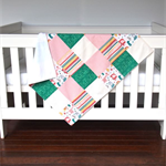 Baby Blanket - Minky Blanket - Animals